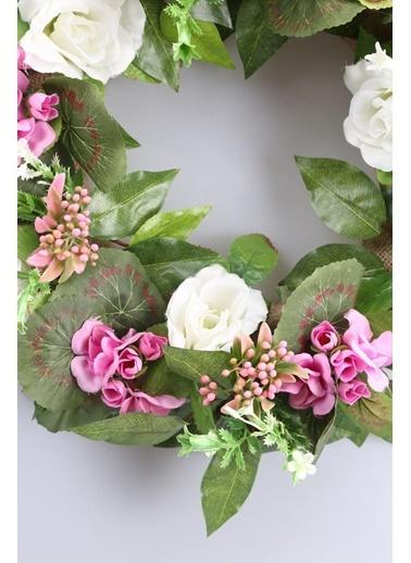 Kibrithane Çiçek Kapı Süsü Sardunyalı  Aranjman Kc00200752 Renkli